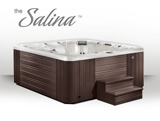 hot tubs des moines iowa salina by caldera spas aqua. Black Bedroom Furniture Sets. Home Design Ideas