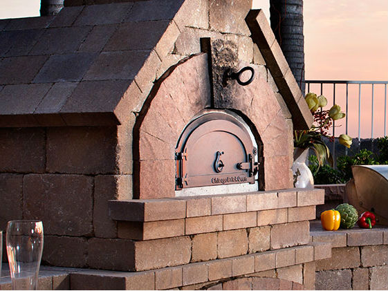 Belgard brick oven pizza