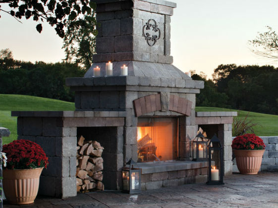 brighton fireplace belgard